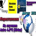 Телеканалы спутник Astra